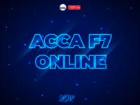 ACCA F7 Online